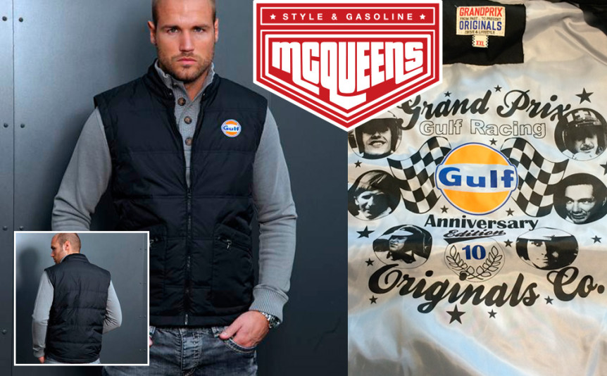 Win the cool GPO vest with Mcqueens